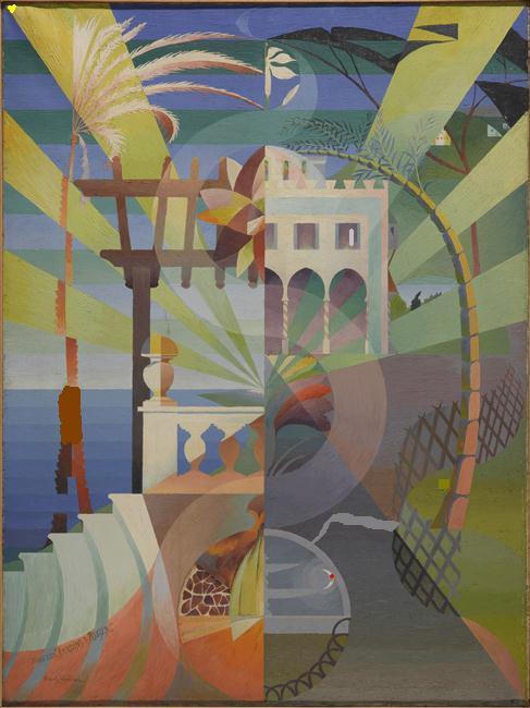 HENRY VALENSI Dans les jardins d'Alger 2
