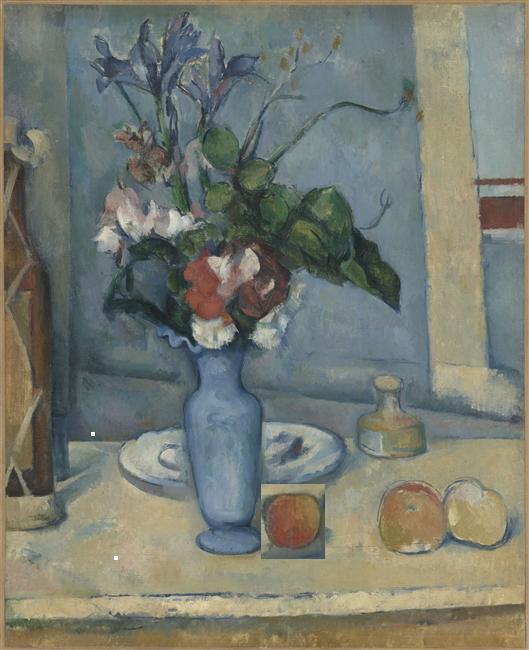 PAUL CEZANNE Le Vase bleu 2