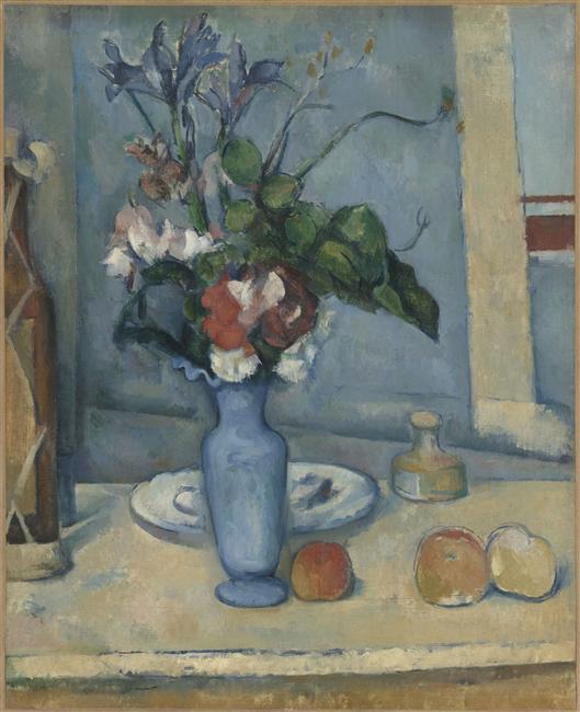 PAUL CEZANNE Le Vase bleu